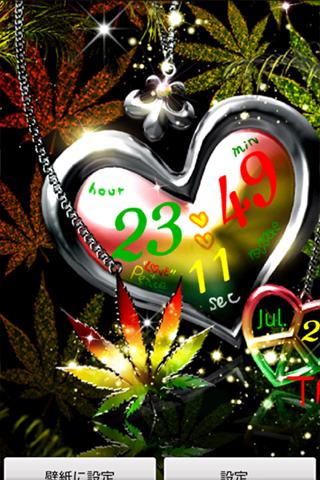 REGGAE LOVE+PEACE LiveWallpape - screenshot