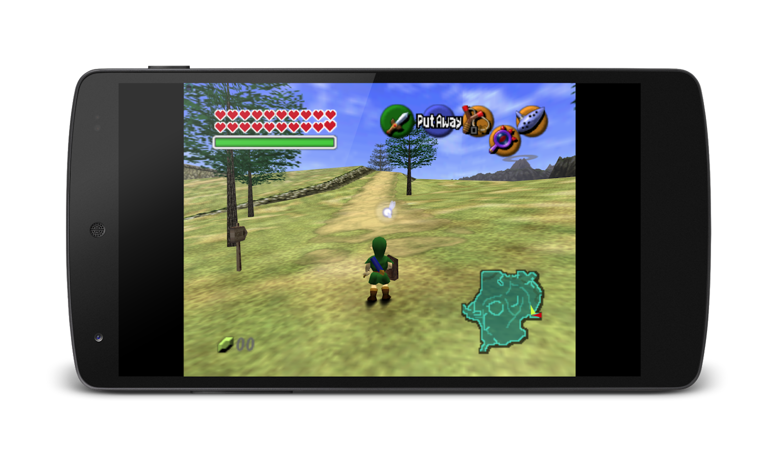 MegaN64 (N64 Emulator): captura de pantalla