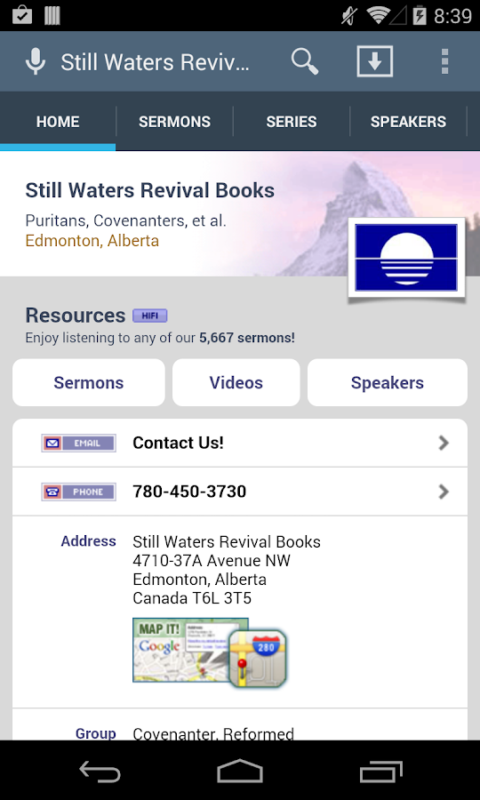 Still Waters Revival Books- screenshot