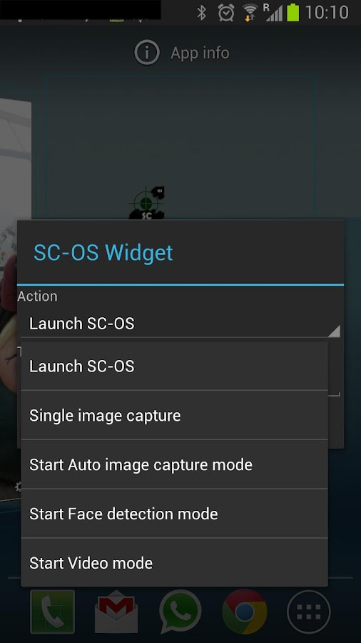 Spy Camera OS (Open Source) - screenshot