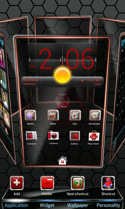 Red Blend Reloaded - screenshot
