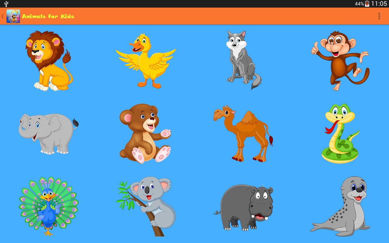 animals for kids screenshot - Pics Of Animals For Kids