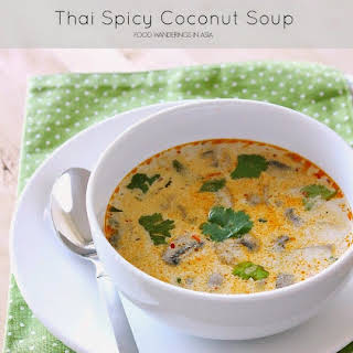 Spicy Thai Coconut Soup.