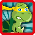 Turtle Runner Ninja Jump icon