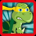 Turtle Runner Ninja Jump icon