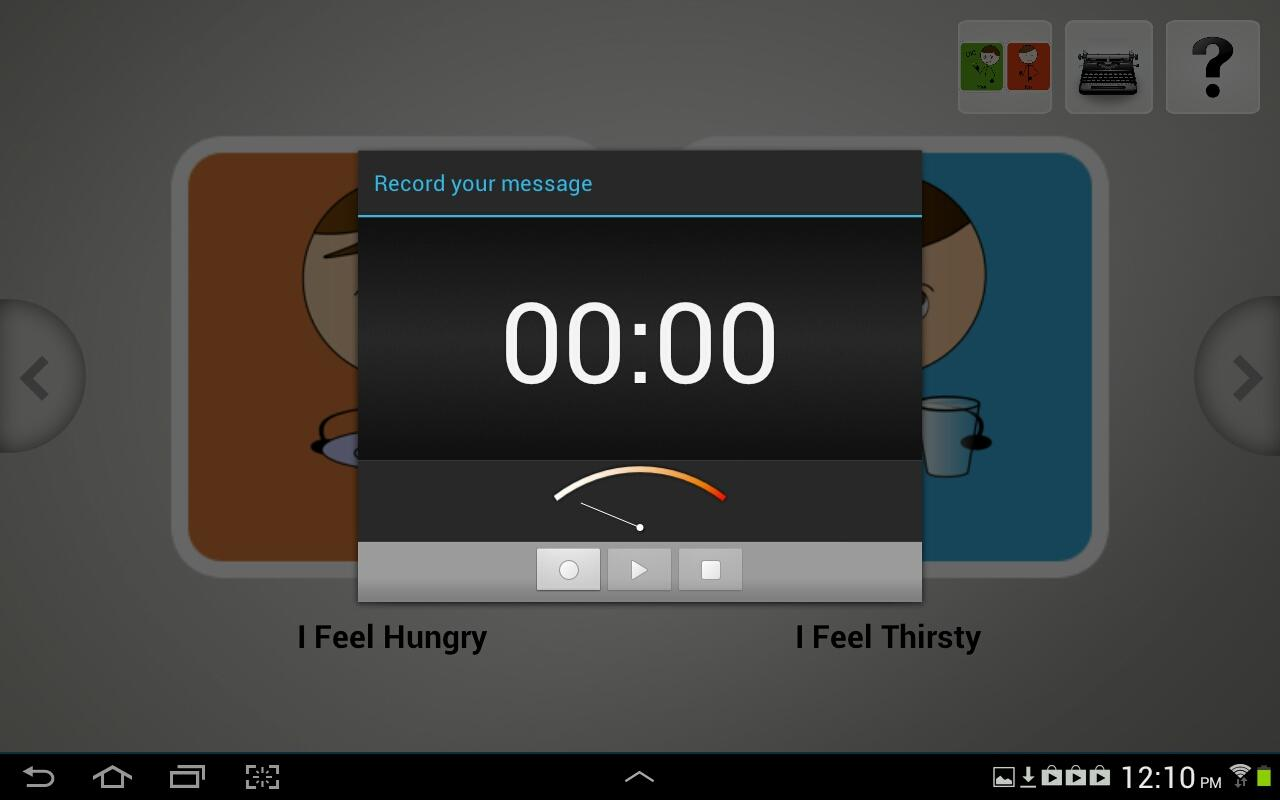 Quick Talk AAC- screenshot