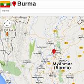 Burma Mapa