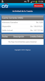 Citi Mobile VE- screenshot thumbnail