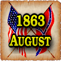 1863 Aug Am Civil War Gazette icon