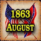 1863 Aug Am Civil War Gazette icon