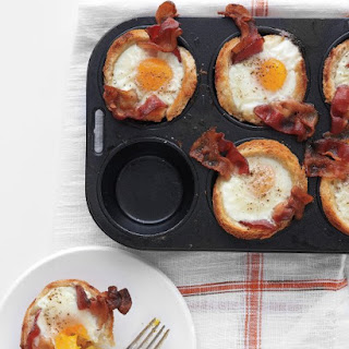 Bacon, Egg, and Toast Cups.