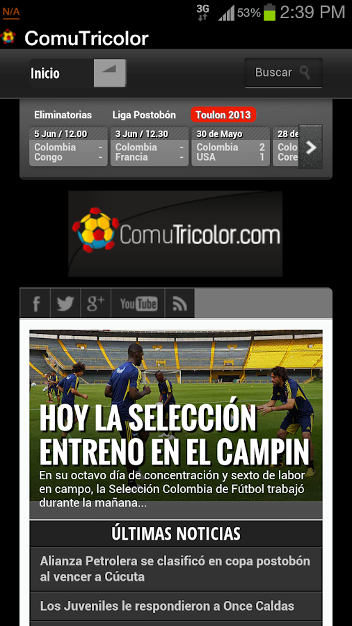 Comunidad Tricolor - screenshot