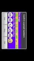 Screenshot of Mega Millions Scanner Lite