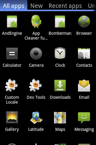 Organised apps full - screenshot