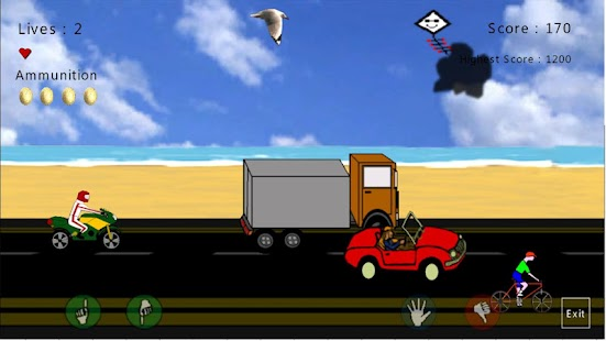 DirtyBirdy - 2D Bird Game - screenshot thumbnail