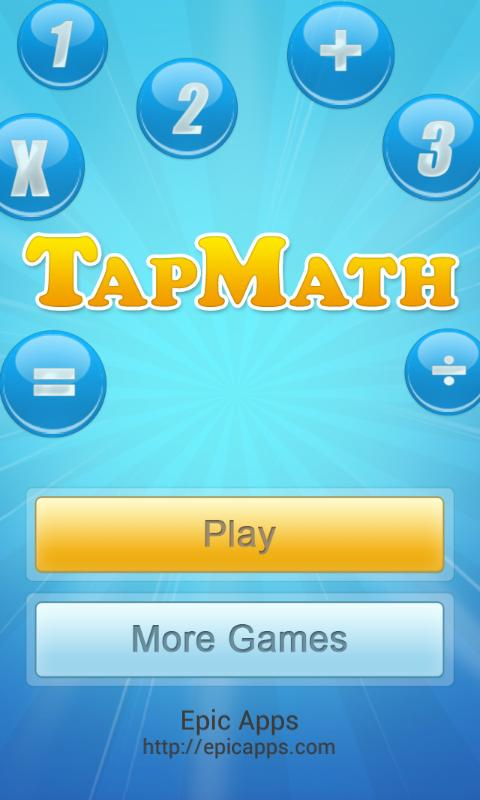 TapMath - Math Practice Game - screenshot