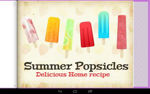 Frozen Summer Popsicles