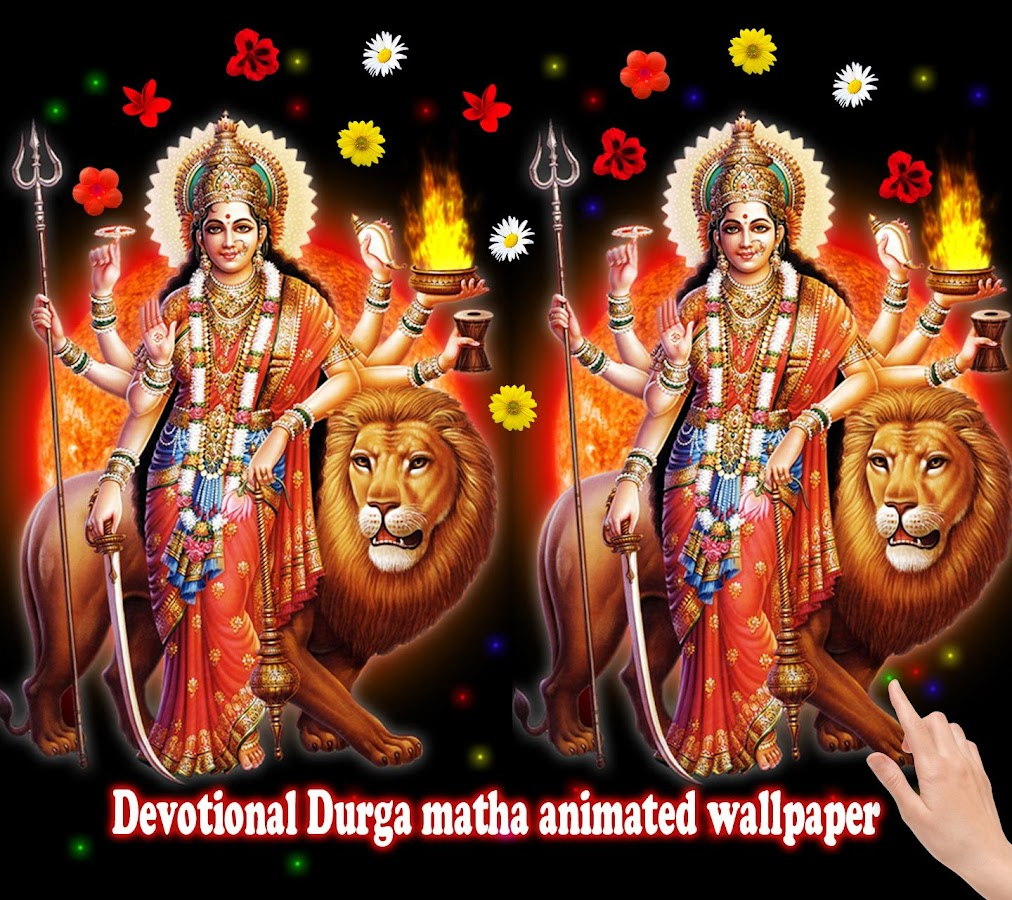 Wallpaper download mata rani - Durga Mata Live Wallpaper Screenshot