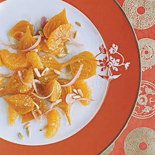 Beet Salad with Tangerines.