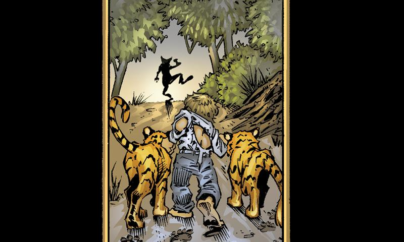 1st Motion Comic on Android - screenshot
