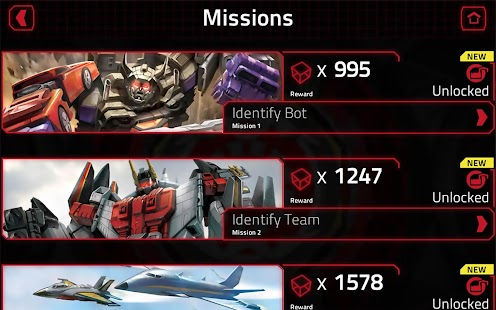 TRANSFORMERS Official App Screenshot 13