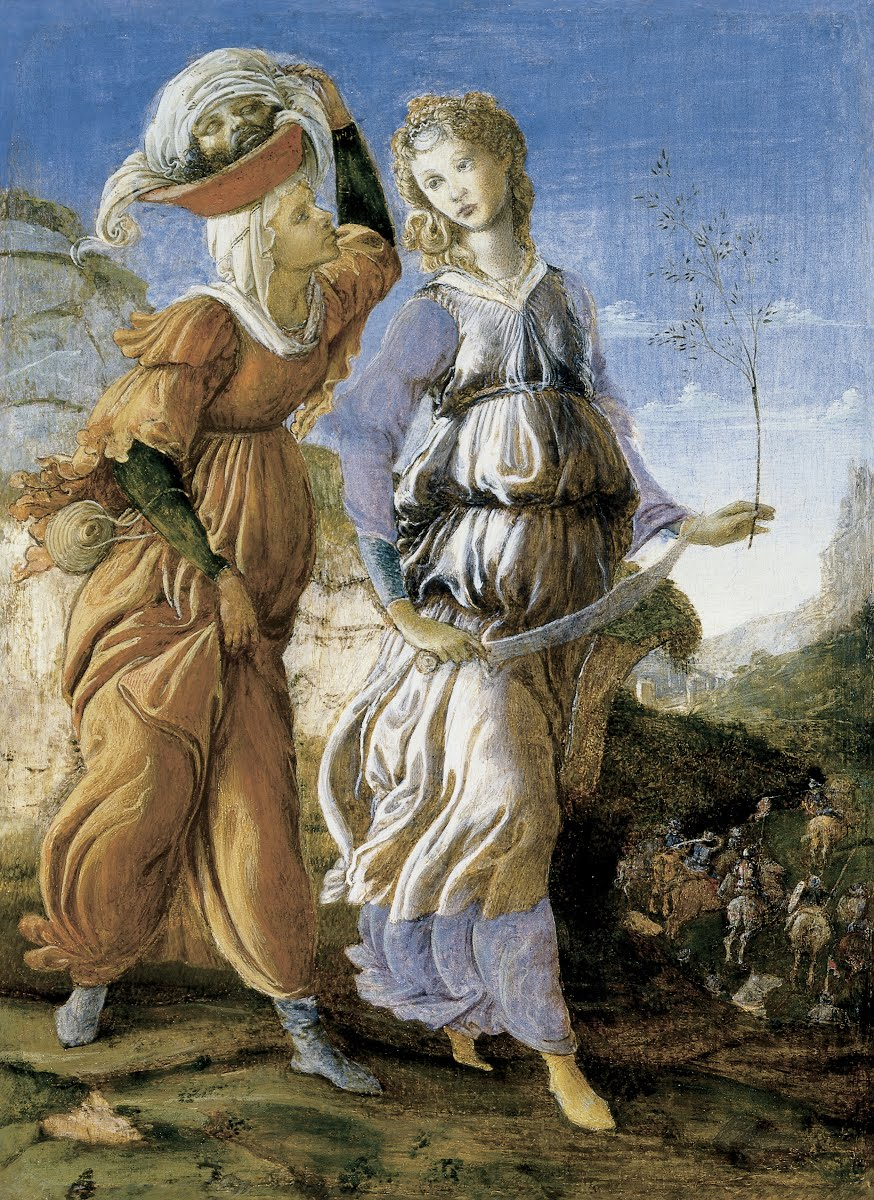 Judith with the Head of Holofernes - Sandro Botticelli (Italian,  b.1444-1445, d.1510) — Google Arts & Culture