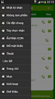 Screenshot of Chan cuoc goi va SMS
