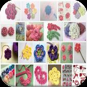 `Easy Crochet Flower Tutorial