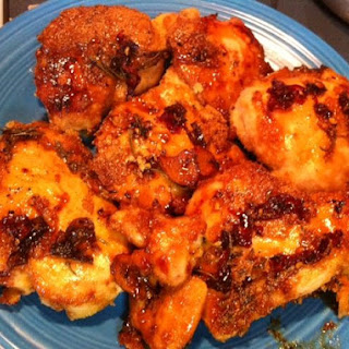 Maple & Apple Cider Vinegar Glazed Chicken.
