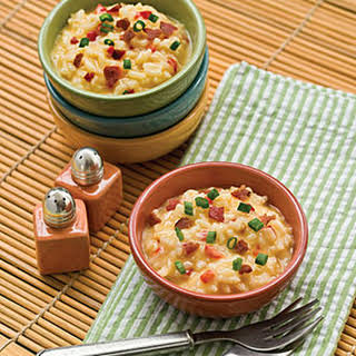 Cheese-and-Bacon Risotto.