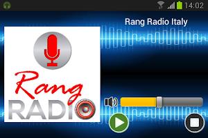 Screenshot of Rang Radio Italy