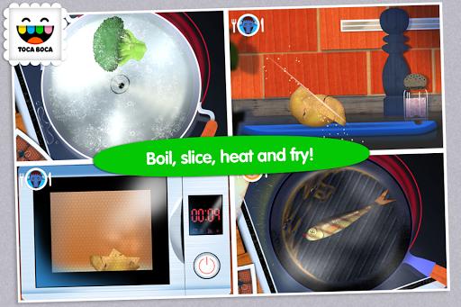 Toca Kitchen  screenshots 3