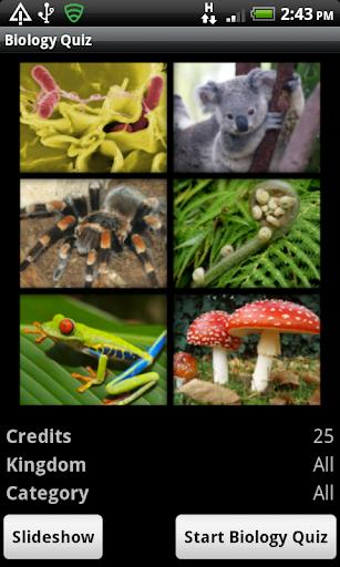 The Biology Quiz