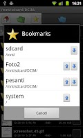 Screenshot of Dual File Manager XT