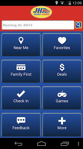 J H Family Stores App