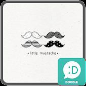 little mustache 카카오톡 테마