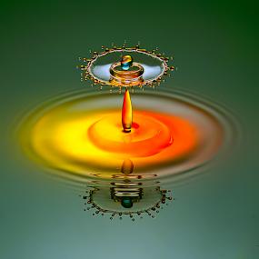 Alien King by Ganjar Rahayu - Abstract Water Drops & Splashes ( waterdrop,  )