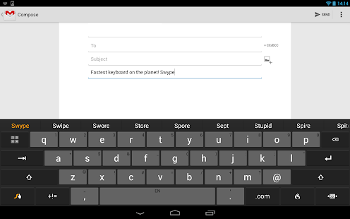Swype Keyboard Screenshot 28