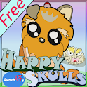 Happy Skulls 3 - Free Version icon