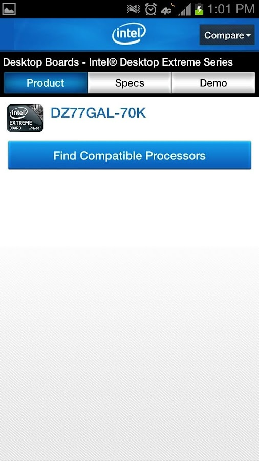 Intel Channel Products Guide - screenshot