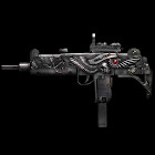 UZI machine-gun icon