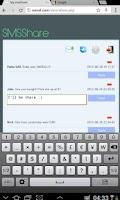 Screenshot of SMSShare Trial