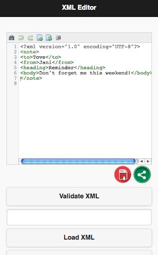 XML Editor and Validator