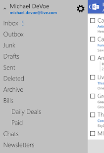 Outlook.com - screenshot thumbnail