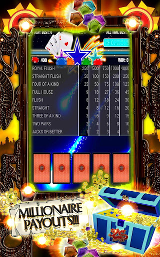 Video Poker Hot Stars Galactic