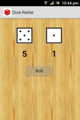 Dice Roller - screenshot