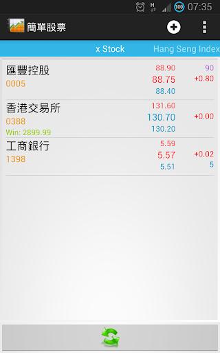 簡單香港股票