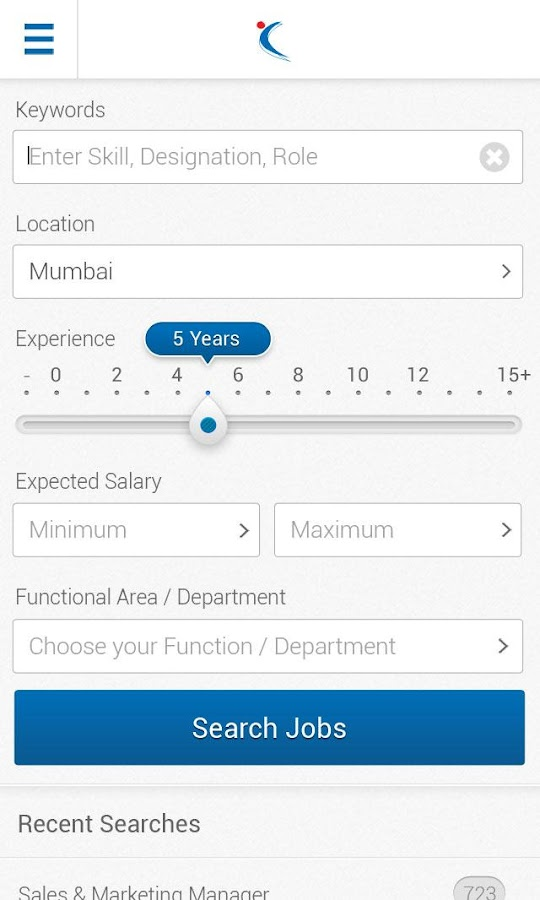 Naukri.com Job Search - screenshot