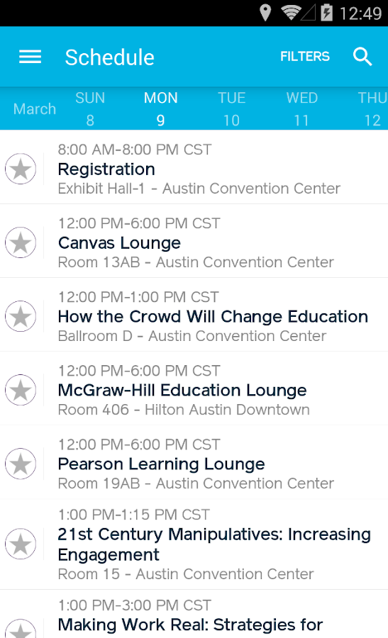 SXSWedu – Official 2015- screenshot