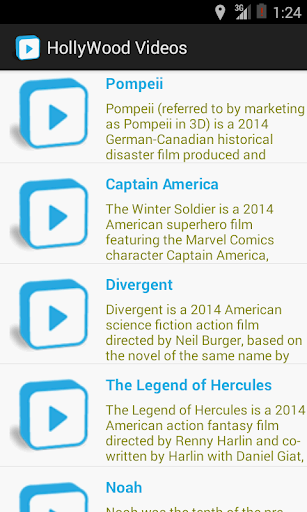 Hollywood trailers 2014